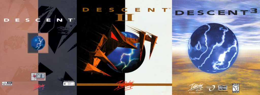 Descent 1, II and 3